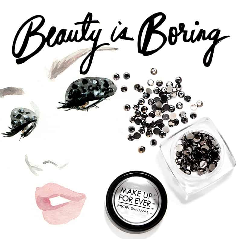 Regina Yazdi, Robin Black, Charlotte Carey, Beauty Is Boring, Make Up Forever