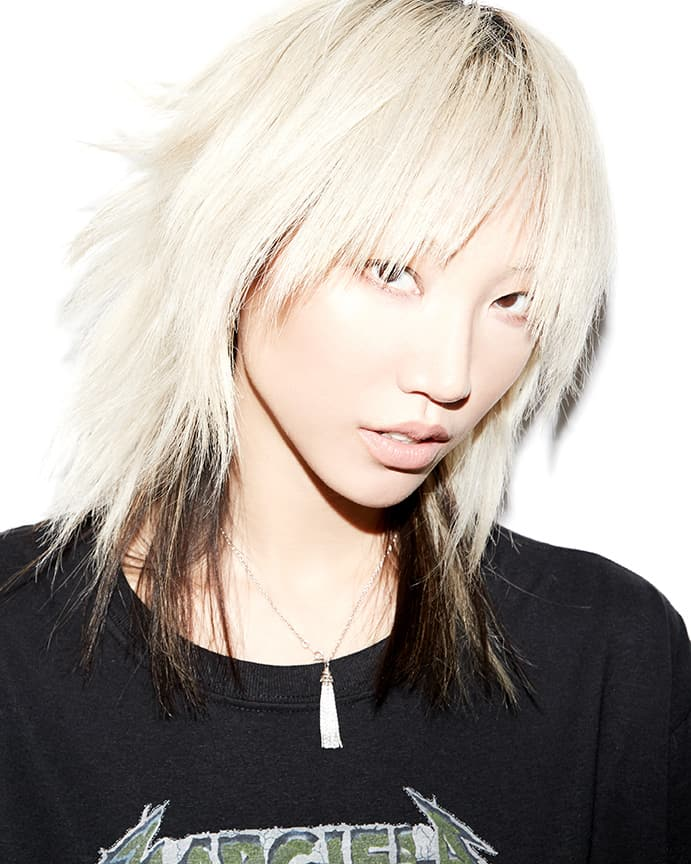 Soo Joo Park behind the scenes for Beauty Is Boring by Robin Black.