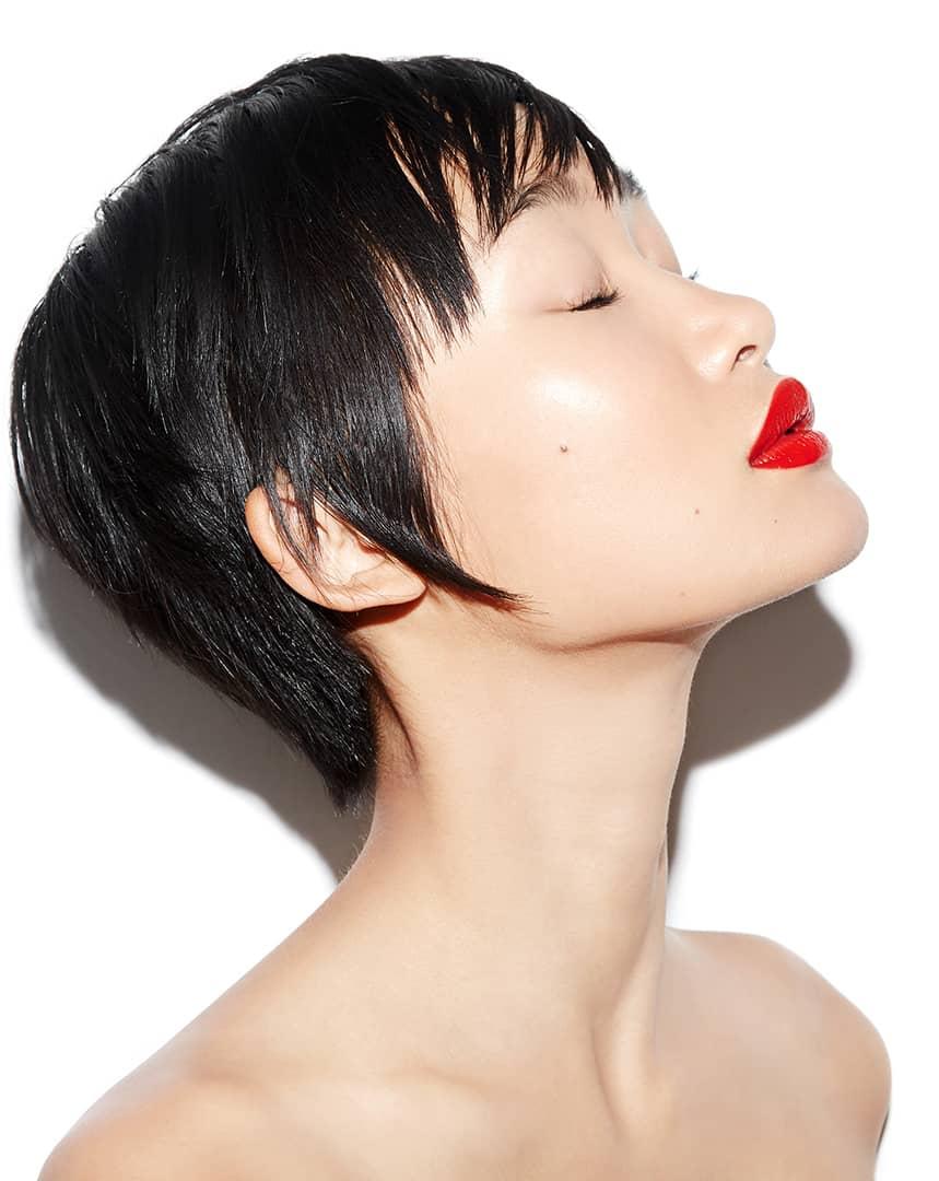 Bobbi Brown, Luxe Lip, Parisian Red, Robin Black, Beauty Is Boring, Miki Hamano
