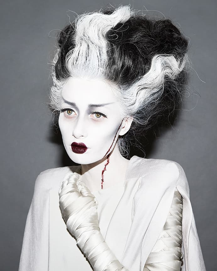 Jade Isobel May-Lou, Beauty Is Boring, Bride of Frankenstein, Halloween 2017